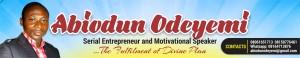 Abiodun Odeyemi Banner
