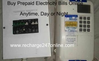 Buy prepaid electricity bills online