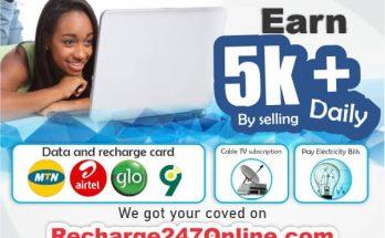 recharge bill paymnet business